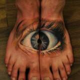 Глаз на ноге