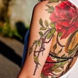 Татуировки цветов — 5 фото