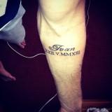 Футболист Ярмоленко набил татуировку в честь сына