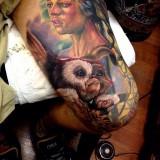 Татуировка гремлина