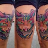 Татуировки кота (4 фото)