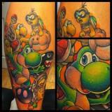 Татуировки мультфильмов и игр