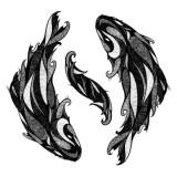 Черное-белые эскизы (5 фото)