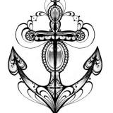 Значение татуировки якоря