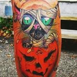 Хэллоуин тату (5 фото)