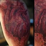 3Д сердце на ноге