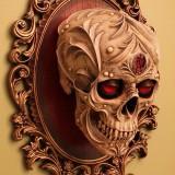 3Д тату черепа (6 фото)