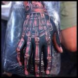 Биомеханика робота на руке
