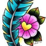 Эскизы: традиционный стиль тату (7 фото)