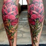Цветы на ногах