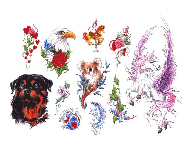 татуировки животных (5)