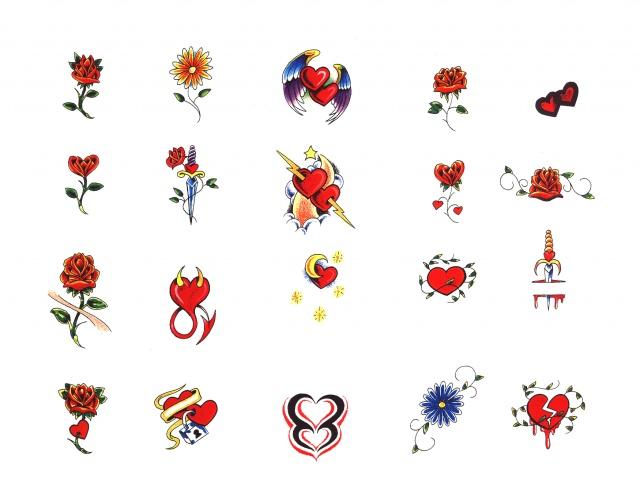 эскизы татуировок цветные (20)