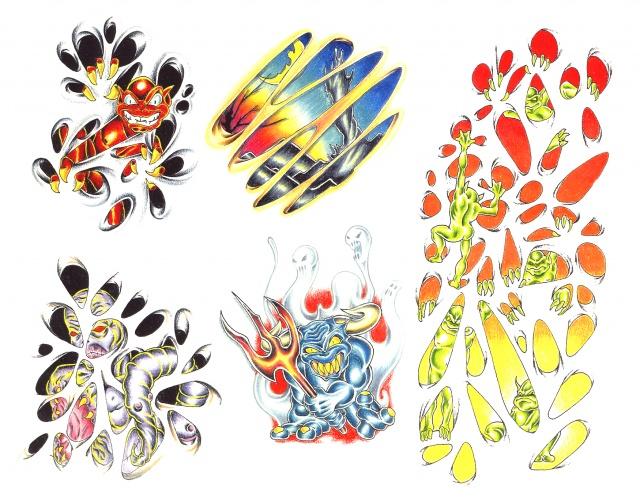 эскизы татуировок (24)