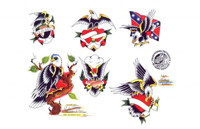 эскизы татуировок цветные (13)