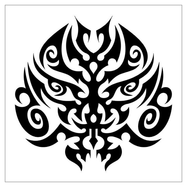 эскизы тату черно-белые (15)