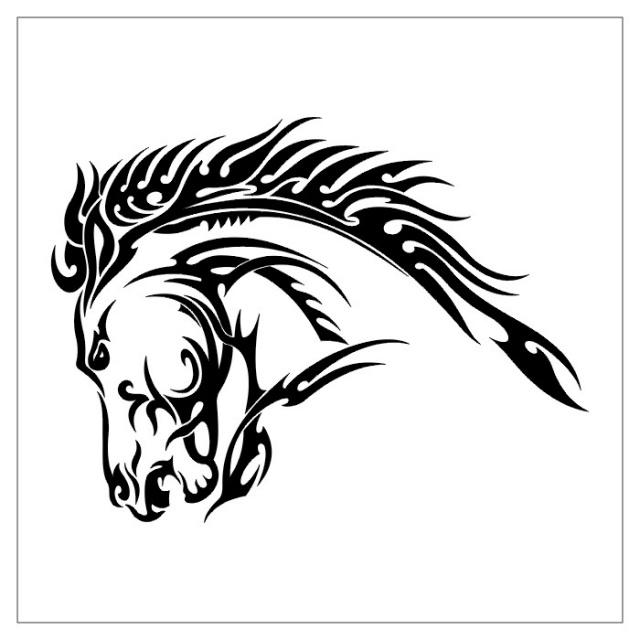 татуировки лошади