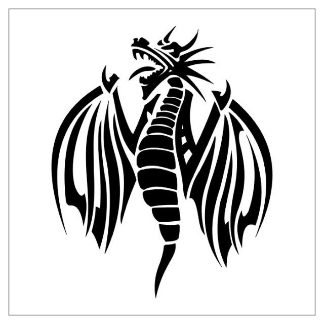 татуировки драконов эскизы