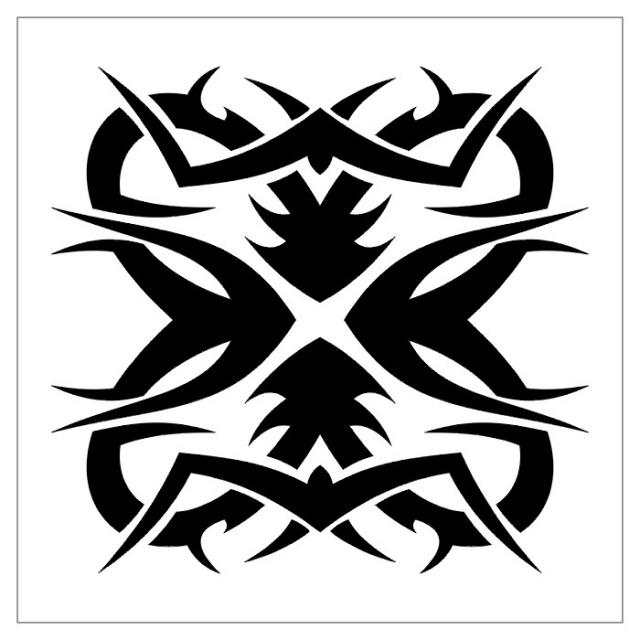 эскизы тату черно-белые (5)