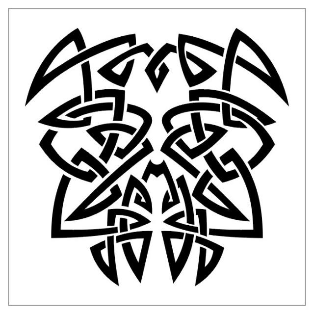 эскизы тату черно-белые (3)