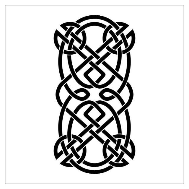 эскизы тату черно-белые трайбл