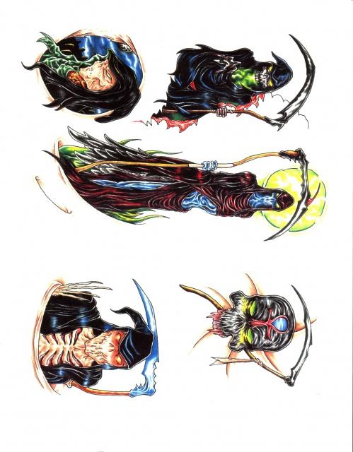 эскизы татуировок цветные (19)