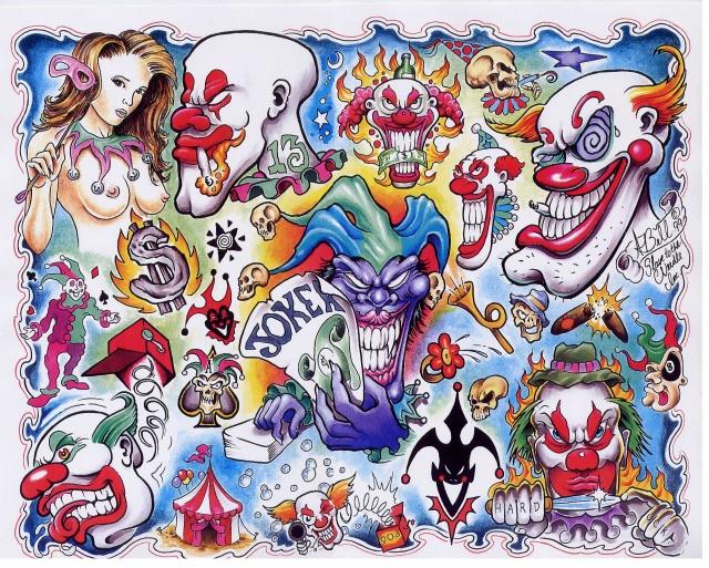 Эскизы татуировок (18)