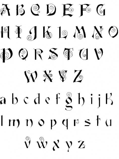 татуировки иероглифы (21)