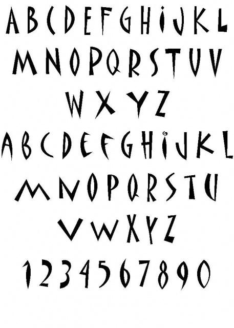 татуировки иероглифы (18)