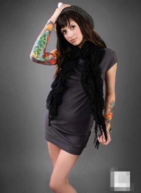 Женские татуировки (14)