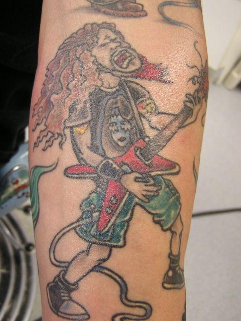 татуировки на руках (23)