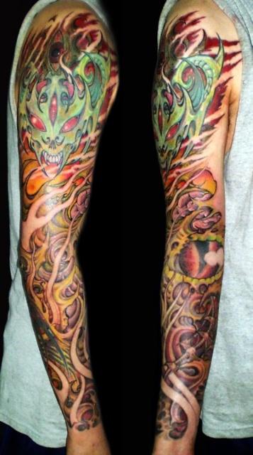 Татуировки на руках (8)