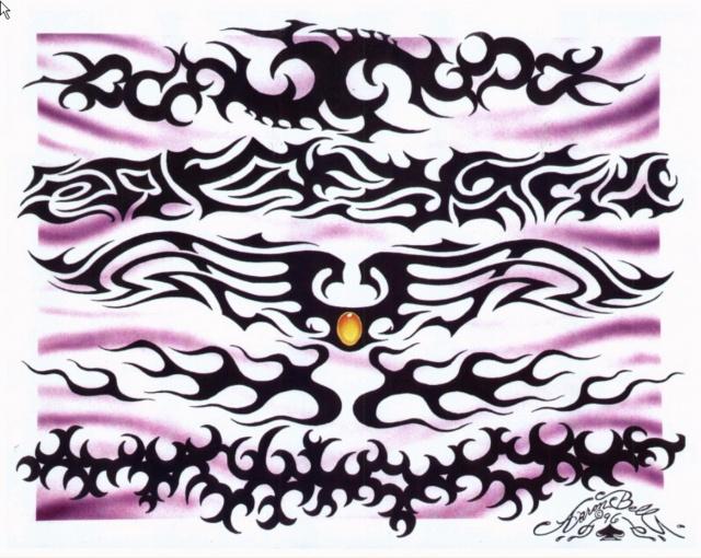 эскизы татуировок цветные (9)