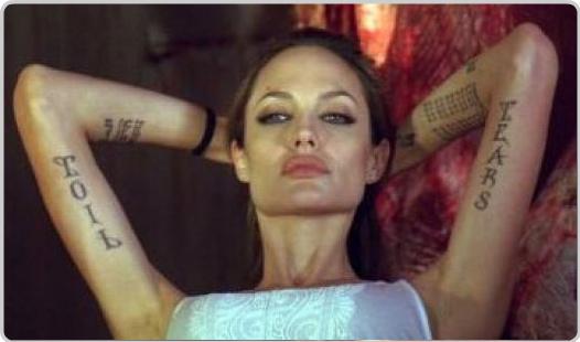 татуировки Анджелины Джоли (7)