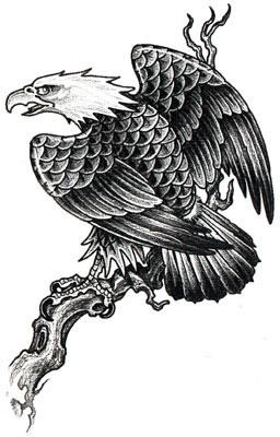 орел татуировка