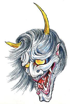 татуировки эскизы демонов (21)