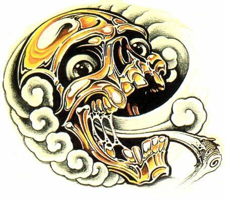 татуировки эскизы демонов (20)