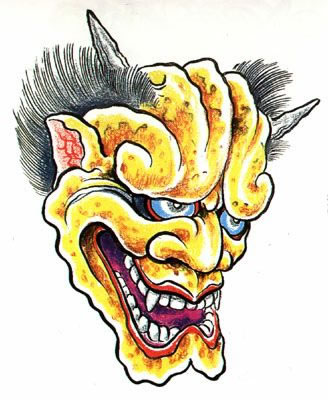 татуировки эскизы демонов (17)