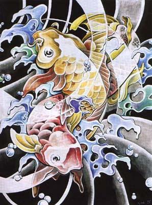 татуировки рыбы (20)