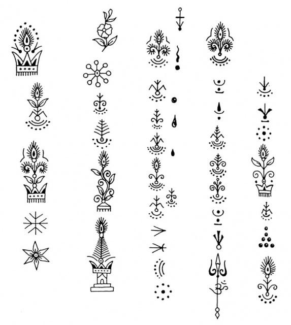 татуировки иероглифы (12)