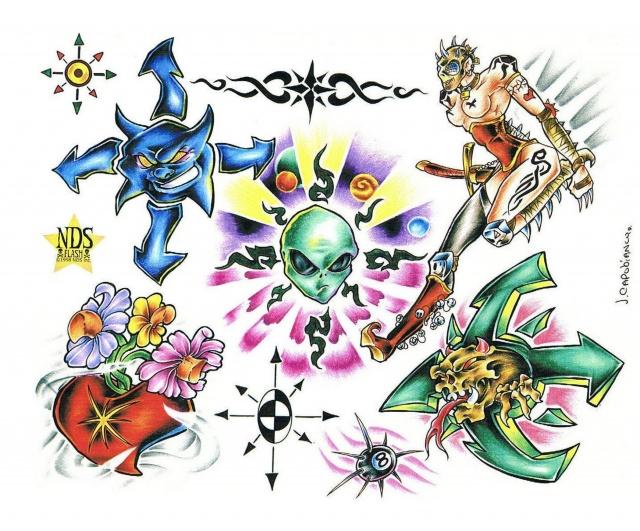 рисунки татуировок (3)