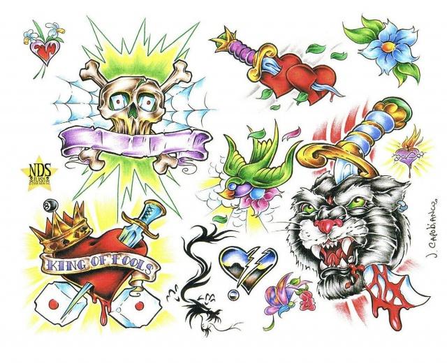 рисунки татуировок (2)