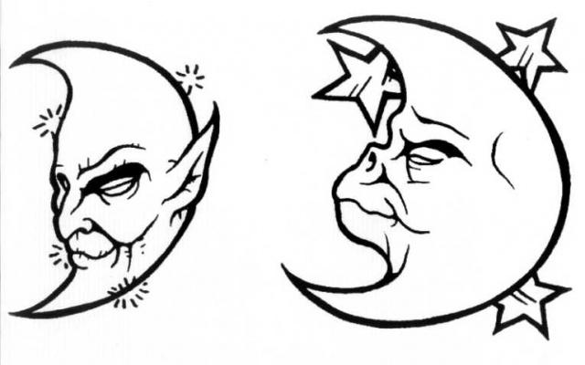 Лунная татуировка