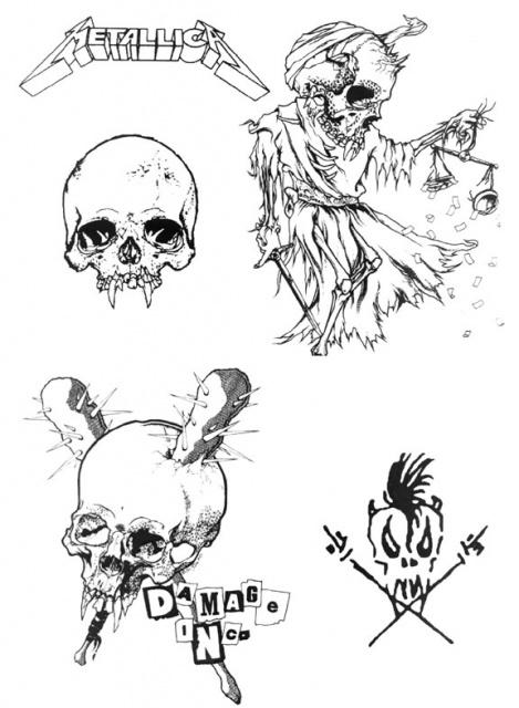 татуировки музыкальные (9)