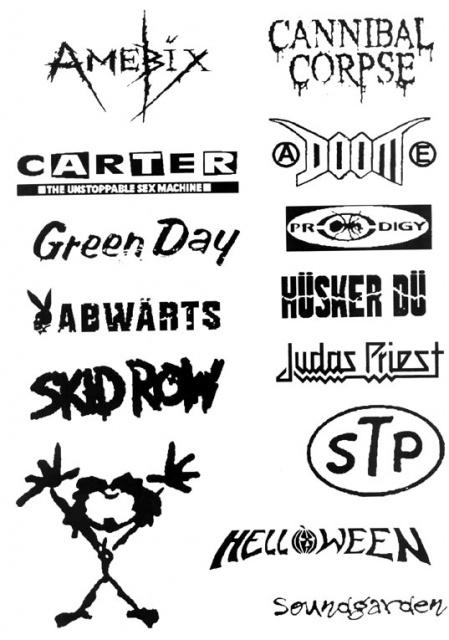татуировки музыкальные (3)