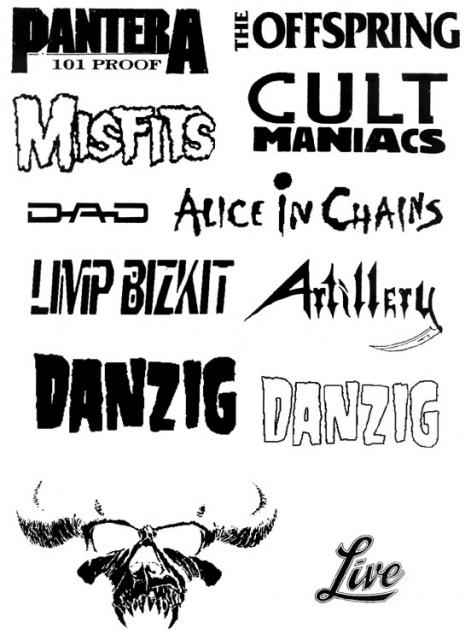 татуировки музыкальные (2)