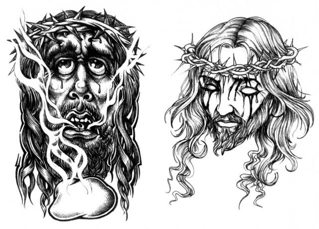 Эскизы татуировок на религиозную