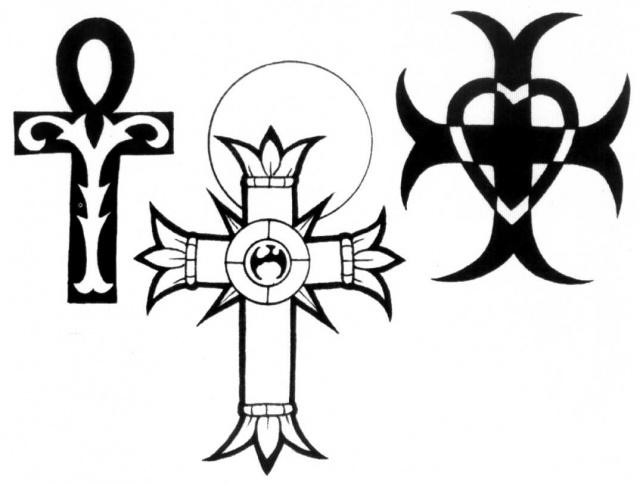 тату крест (5)
