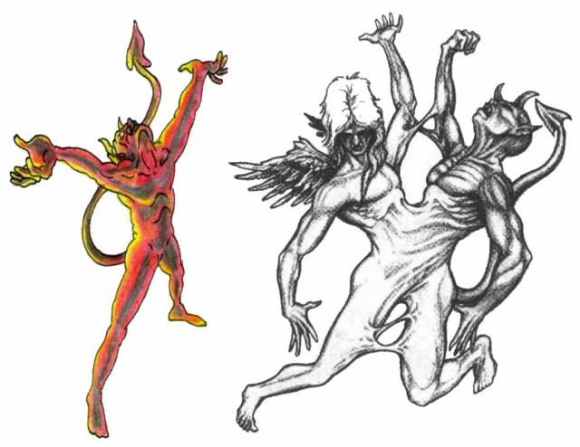 татуировки эскизы демонов (7)