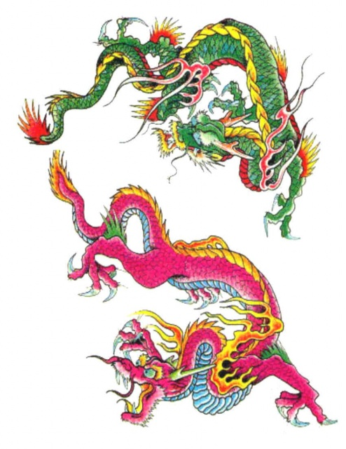 тату дракон (5)