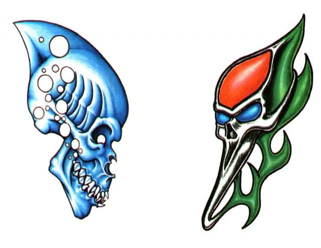 татуировки эскизы демонов (4)
